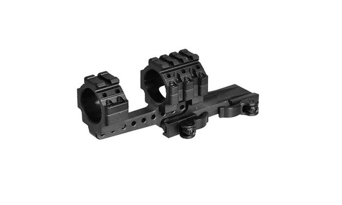 UTG Integral 30mm Offset QD Mount w/4 Top Slots/70mm Base