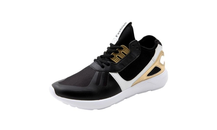 Men's Adverse Mesh Round Toe Breathable Sneakers