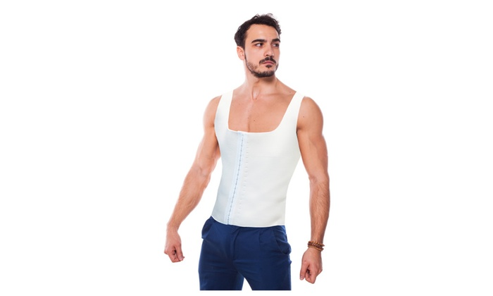 2 Sets Of Men's Shaper In Black And White