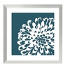 Graphinc 'Graphic Flower 1' Framed Art Print 22 x 22-in