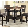 Skien 5 Piece Dining Set in Espresso
