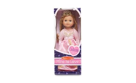 "Melissa Doug Celeste - 14"" Princess Doll 4878 6ecb9cb4-8128-4b76-8a2c-eb313d1c8050"