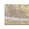 'Map of London 1572' Canvas Art