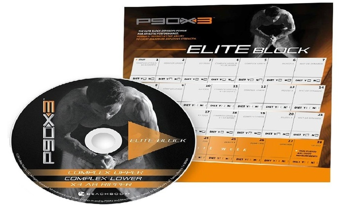 Up To 73% Off on P90X3 Workout Deluxe Kit 10 F    | Groupon