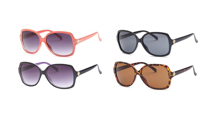 Designer Fashion Diva Sunglasses Assorted Colors (4-Pack)