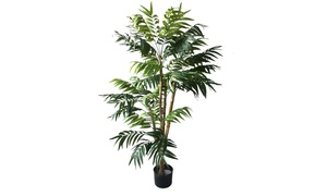 Pure Garden 5 foot Tropical Palm Artificial Tree