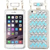 Perfume Bottle Hard 3D Rubber Case Chain w iPhone 6 PlusBlue/White