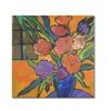 Sheila Golden The Purple Table Canvas Print