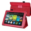 Insten Red Stand Leather Case For Kindle Fire HD 7 2nd Gen 2013
