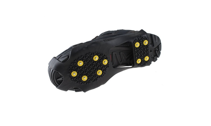 Men/'s Shoes No Slip Snow Walking Shoe Traction Ice Treads 6-11 New Free Shipping