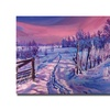 David Lloyd Glover The Road Home Canvas Print