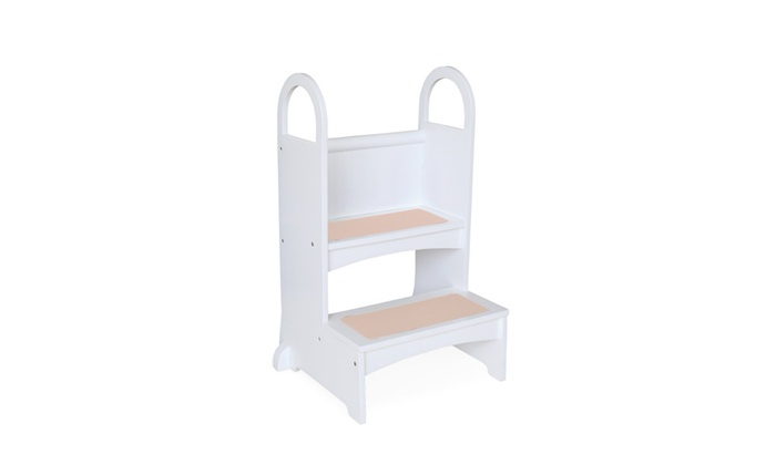 High Rise Step Up White Groupon