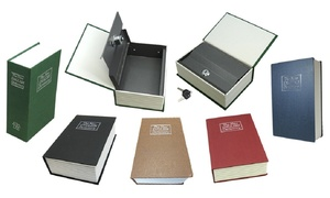 Dictionary Book Safes with Key Lock - Multiple Sizes Available