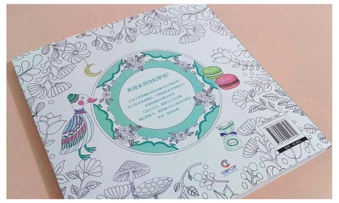 Natural Singular Mirror Fantasy Dream Adult Coloring Books 2 Pack