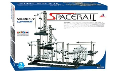 Space Rail Marble Roller Coaster Ball Set Level 7 32,000mm Rail 797f6bae-8644-4445-ac95-a3a24db14d36