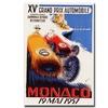 Monaco 1957 Canvas Print 18 x 24