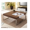 Mitchy  Serving Tray Insert  Wood Panel Coffee Table