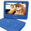 """Sylvania 9"""" Portable DVD Players With 5-hour Battery (blue)"""