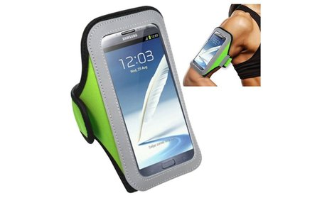 Insten Green Armband For iPhone 6 6S Plus/Nexus 6/Note 4 3/ZTE ZMax