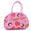 Pink Lips Betty Boop All Over Bowling Purse Handbag