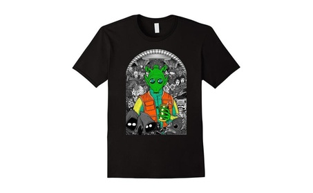 Star Wars Mos Eisley Cantina Where's Greedo? Graphic T-Shirt 65c5536b-a5fd-48cb-8c0c-6ed8e3ecb59a
