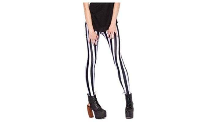 Women's Ladies Sexy  Beetlejuice Leggings Pants – Black / One Size