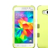 Insten Hybrid Hard Case For Samsung Galaxy Grand Prime Green