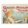 Biscuits & Chocolate Delacre Canvas Print 35 x 47