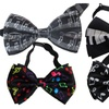 Music Themed Bow Tie in Your Choice of Notes or Piano