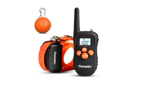OWNPETS Rechargeable 330 Yards Dog Training Shock Collar with Remote f841aaf8-8041-4d66-abe2-98ec02976dd3