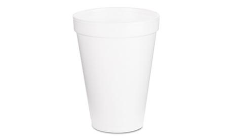 Dart Foam Drink Cups, 12oz, White, 1000Carton be71fbb1-f401-4379-83bb-fc6d64f86383