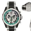 Weil And Harburg Thornton Chronograph Mens Watch Silver/Green