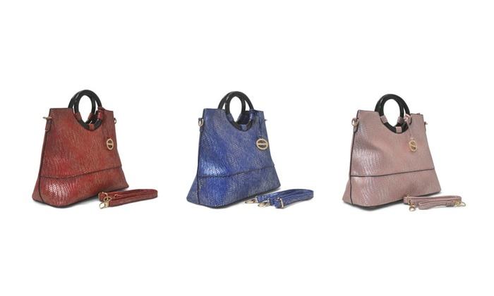 Sorrentino Women's Handbag No. 826 Wave Pattern