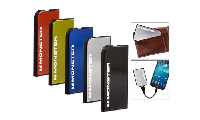 View full Monster Mobile PowerCard Portable Battery specs on CNET.