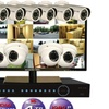 """Security Labs 14TB NVR System With 10 Cameras & 24"""" HDMI LED Monitor"""