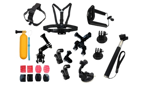 23-in-1 Camera Sports Accessories Kit for Gopro Hero 5 4 3 2 1 93f20b1e-97eb-4b2d-82b1-69163378a29b
