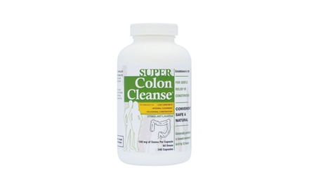 Super Colon Cleanse, 500 Milligrams, 240 capsules