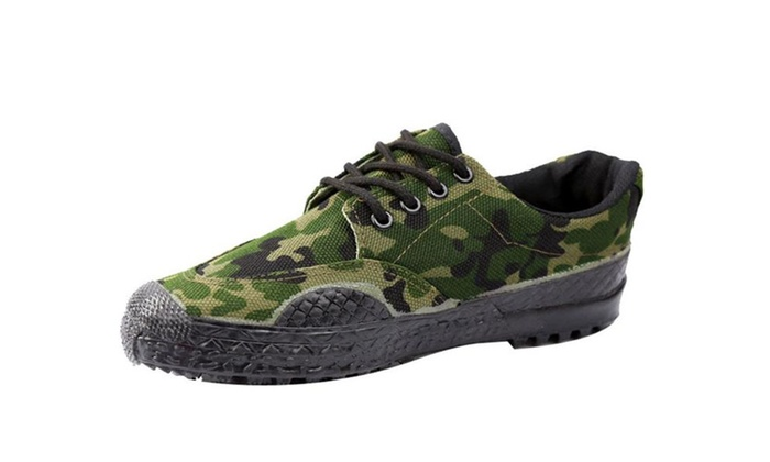 Men's Sneaker Canvas Liberation Chinese Army Shoes