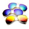 Summer Style Women Men Unisex Fashion Aviator Mirror Lens SunGlasses