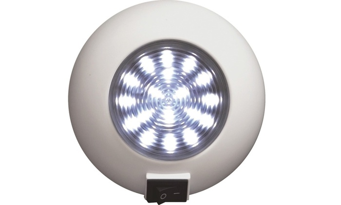 SeaSense Surface Mount 18 LED Super Bright Light - White