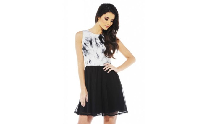 AX Paris Tie Dye Skater dress