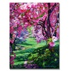 David Lloyd Glover Sakura Romance Canvas Print