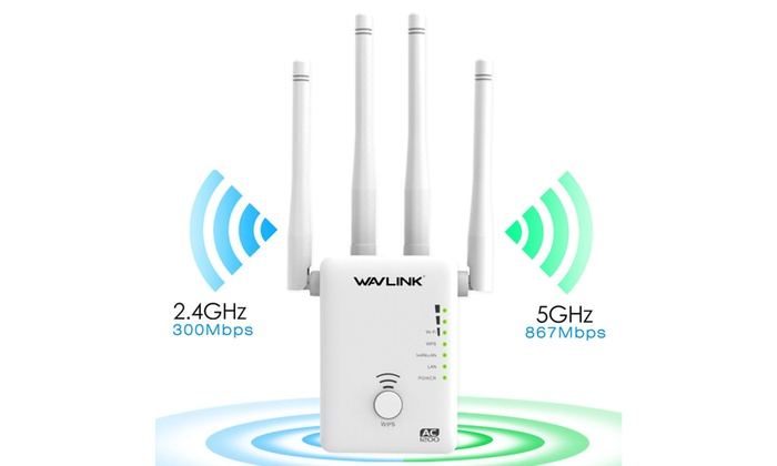 AC1200 Dual Band WIFI Repeater/&Router,2.4G/& 5G Wireless-N Range Extender