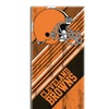 NFL 911 Browns  Diagonal Beach Towel