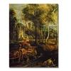 Peter Rubens 'An Autumn Landscape' Canvas Art