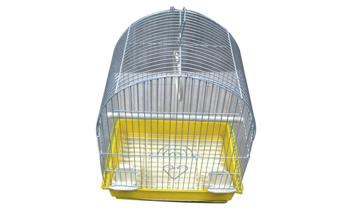 Dome Top Bird Cage In Assorted Colors Groupon
