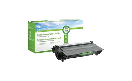 Black Toner Cartridge compatible with the Brother TN-750 (8000 page yield)