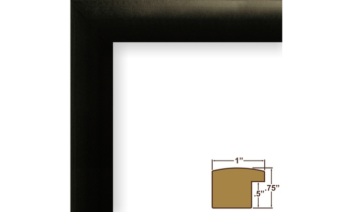 10x14 Inch Contemporary Black 4 Photo Collage Frame with 4 Openings ...
