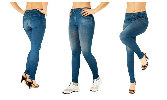 La Casa Milano Women's Slim-Jean Leggings