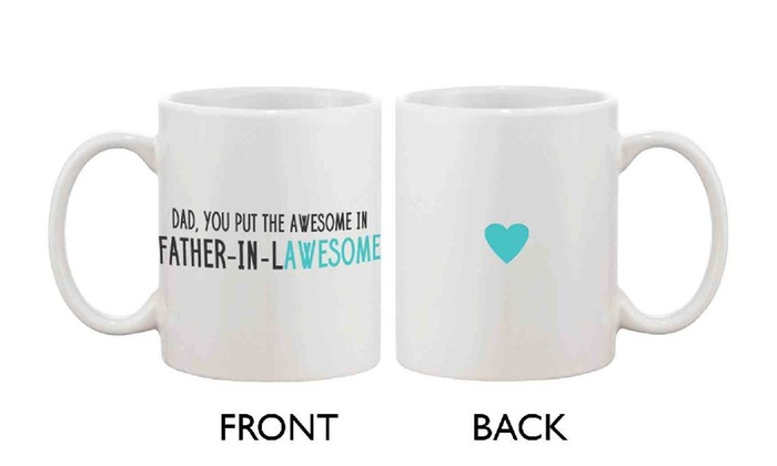 Gift Idea For Father In Law Fathers Day Gifts Ceramic Mug For Gift